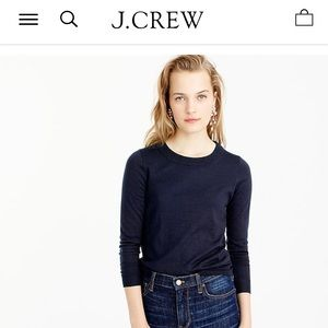 Brand new Jcrew sweater dark navy